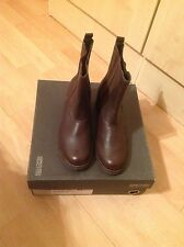 kenneth cole brown leather boot size 4