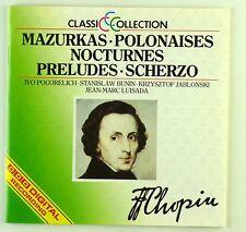 CD - F. Chopin - Mazurkas • Polonaises • Nocturnes • Preludes • Scherzo - A5091