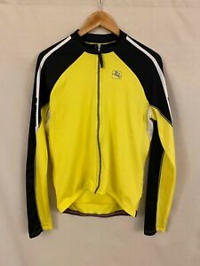 Giordana Long Sleeve Jersey in Yellow - Excellent Condition