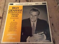BILLY GRAHAM   International Crusade Choirs  LP   Mono  RCA 1960