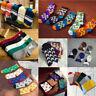 Chaussettes Homme Femme Socquettes Sport Court Coton Comfortable Doux Socks Noël