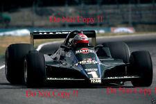 Mario Andretti Martini Lotus 79 F1 temporada 1979 fotografía 1