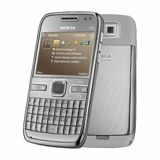 Nokia E72-Metallo Grigio (Sbloccato) Smartphone Grado C-GARANZIA