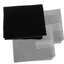Cooker Hood Filters Kit for INDESIT Extractor Fan Vent Grease Carbon Filter