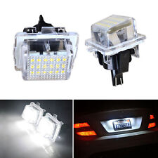 Mercedes Benz LED Licence Number Plate Light Lamp Bulb W204 W212 W221 C207 C117