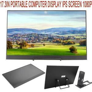 17.3inch Portable Computer Display 1080P IPS Monitor Computer Display Screen FOY
