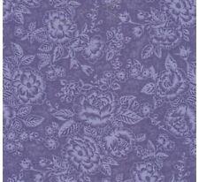 Rjr Shabby Rose Cottage Lavender Purple Voilet Floral Quilt Fabric Quilting
