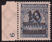 Deutsches Reich Mi.Nr. 335 A W b postfrisch geprüft BPP Mi.Wert 150€ (5256)