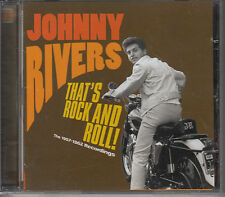 CD ALBUM JOHNNY RIVERS / 1957 - 1962 RECORDINGS / SUPERBE