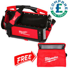 Milwaukee 4932464086 50cm Packout Tote Toolbag With Can Cooler Bag