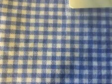 ~NEW~ POTTERY BARN KIDS HAPPY BUGS NURSERY VALANCE CANTONNIERE BLUE&WHITE CHECK