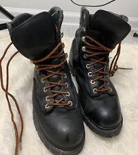 Harley Davidson Men's Steel Toe Riding Boots Size 11 Nicely Broke In