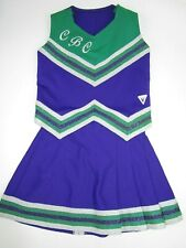 "REAL Cheerleader Uniform Outfit Kids Adults Sizes 28-40"" Top 20-34"" Skirt Choose"