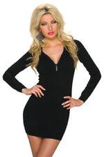 Vestidos de mujer de color principal negro de poliamida talla 36