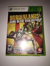 Borderlands Game of the Year -Xbox 360 Complete And Tested
