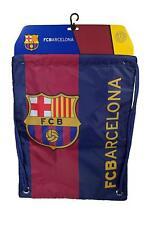 Fc Barcelona Authentic Official Licensed Soccer Drawstring Cinch Sack Bag
