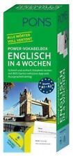 PONS Power-Vokabelbox Englisch in 4 Wochen (2017, Merchandise)