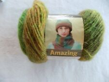 Lion Brand Yarn Amazing Rainforest Lot#1298 53% Wool 47% Acrylic 1.75 oz 147 yds