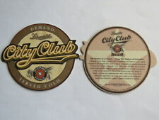 Beer Coaster ~ Jacob SCHMIDT Brewing City Club ~ St Paul, MINNESOTA ** CLOSED