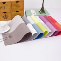 Non-slip Mats Dining Table Coasters Kitchen Accessories Place-mat Washable Pads