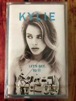 Kylie Minogue - Let's Get To It Cassette Album 1991 France New And Sealed PWL