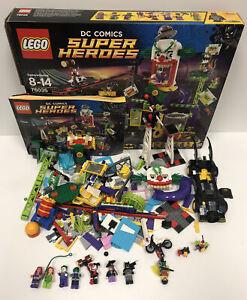 LEGO set #76035 Jokerland Batman Joker DC Super Hero Missing Pieces SOLD AS IS!