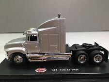 HO 1/87 Model Power # 20302 Ford Aeromax Tractor - Silver