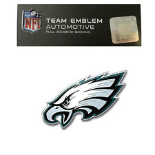 NFL Philadelphia Eagles Aluminum Emblem Decal Size Aprx. 4 1/2 x 2 inches