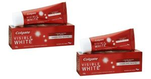 Colgate Visible White Toothpaste - 100 gm x 2 pack (Free shipping worldwide)