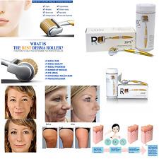 Titanium Derma Roller Micro-Needle ZGTS Beauty Wrinkles Scars Acne 192 Needles