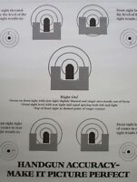 Vintage Smith & Wesson Handgun Accuracy Poster