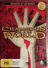 Champions Of The World (DVD, 2006, 2-Disc Set)  SOCCER  Les Murray  NEW & SEALED