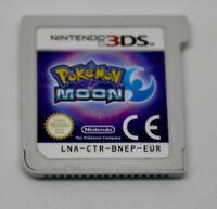 Jeu POKEMON LUNE (Moon) pour Nintendo 3DS Version FR CARTOUCHE SEULE