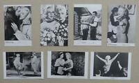 MARILYN MONROE - 7 verschiedene Pressefotos