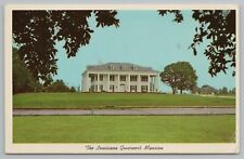 Baton Rouge Louisiana~Governors Mansion From Across Road~Vintage Postcard