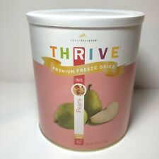 Thrive Premium Freeze Dried Pears, Large #10 Can, 42 Servings