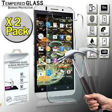 2 Pack Real Tempered Glass Screen Protector Cover For TTEM A909 Quad Core