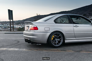 BMW E46 M3 rear diffuser by FANCYWIDE