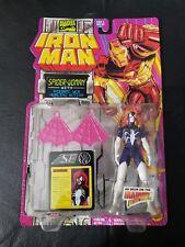 Marvel Comics Iron Man Spider-Woman Figure, Toy Biz 1994