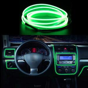 LED Green 1M Interior Cold light Atmosphere Lamp Wire Strip Decoration 12V HALS