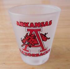Arkansas Razorbacks Frosted Shot Glass