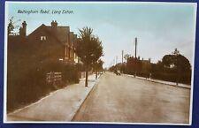 Nottingham Road, Long Eaton. Milton Series. RP. Postcard.