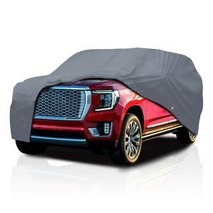 [CCT] 4 Layer Semi-Custom Fit Full SUV Cover For GMC Yukon XL [2001-2021]