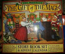 The Muppets The Gift of the Magi Story Book Set & Advent Calendar