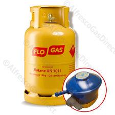 13kg Butane Gas Cylinder (with empty exchange*) plus FREE Gas Regulator