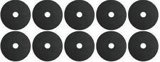 """Ten Stick-On 45mm Rubber Washer 3/8"""" Tripod / Bracket"""