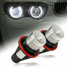 FOR BMW E39 E60 1/5/6/7 SERIES X3 X5 6000K LED ANGEL EYE HALO MARKER LIGHT BULBS
