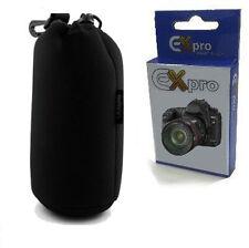 Ex-Pro® Neoprene DSLR Camera Lens Soft Protector Carry Case Bag Pouch - Large