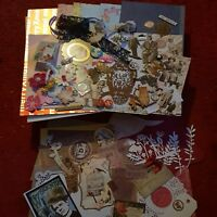 BUMPER MIXED EMBELLISHMENT ,EMPHERA Pack.Tim Holtz ,Scrapbooking,Embellishments