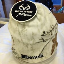 Beanie Snow CAmo Benelli Embroidered pull on hat  -- WW ship